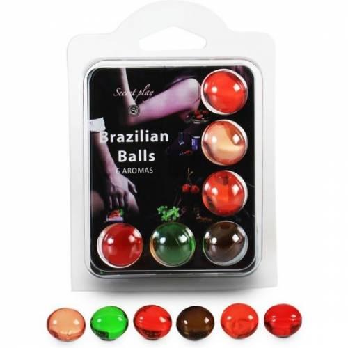 SECRET PLAY SET 6 BRAZILIAN BALLS AROMAS