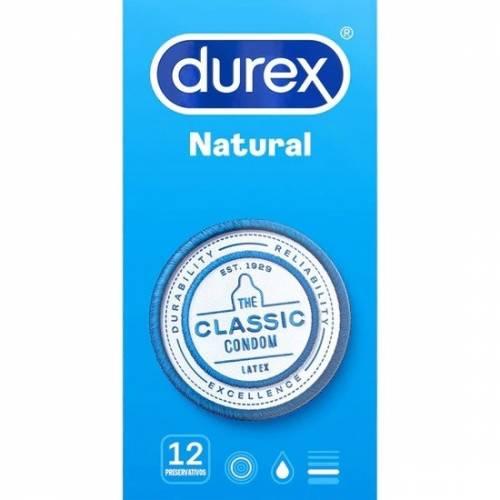 DUREX NATURAL 12 UDS