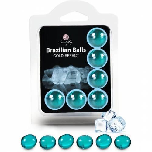 SECRET PLAY SET 6 BRAZILIAN BALLS EFECTO FRIO