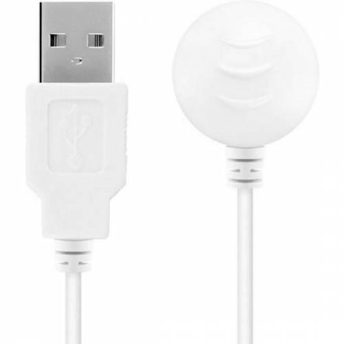 SATISFYER CARGADOR USB BLANCO